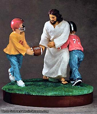 Football is the new religion